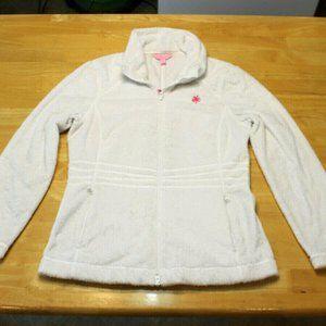 Lilly Pulitzer Maddie Jacket Full Zip fuzzy fleece
